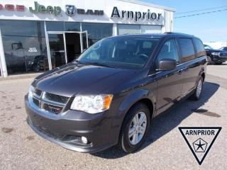 Used 2019 Dodge Grand Caravan Crew for sale in Arnprior, ON
