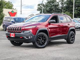 Used 2017 Jeep Cherokee TRAILHAWK | NAVIGATION | LOW LOW K'S for sale in Simcoe, ON