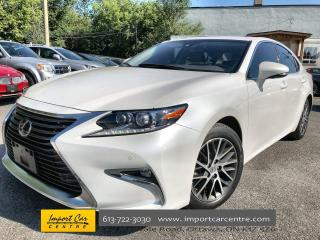 Used 2017 Lexus ES 350 ONLY 55KKMS!!  TOURING PKG  LEATHER  ROOF  NAVI  B for sale in Ottawa, ON