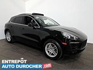 Used 2015 Porsche Macan S AWD NAVIGATION - Toit Ouvrant - A/C - Cuir for sale in Laval, QC