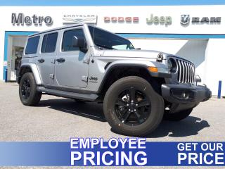 New 2020 Jeep Wrangler Unlimited Sahara Altitude for sale in Ottawa, ON