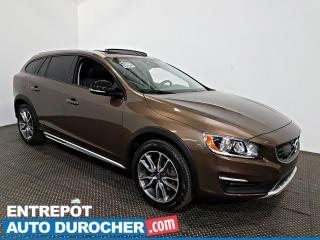 Used 2017 Volvo V60 Cross Country AWD NAVIGATION - Toit Ouvrant - A/C - Cuir for sale in Laval, QC