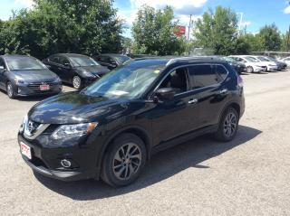 Used 2016 Nissan Rogue SL AWD - LEATHER - MOONROOF - NAVIGATION! for sale in Ottawa, ON