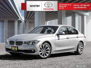 Used 2016 BMW 3 Series 328i xDrive for sale in Whitby, ON