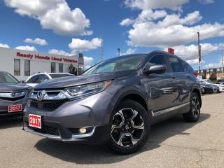 Used 2017 Honda CR-V Touring Navi - Leather - sunroof - Alloy for sale in Mississauga, ON