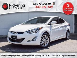 Used 2016 Hyundai Elantra Sport Appearance - Sunroof/Rear CAM/Heated Seats for sale in Pickering, ON