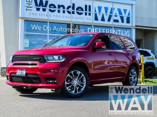 Used 2019 Dodge Durango GT NAV/ROOF/DVD for sale in Kitchener, ON