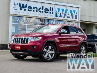 Used 2011 Jeep Grand Cherokee Limited Nav/Roof/Tow for sale in Kitchener, ON