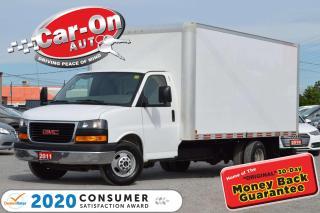 Used 2011 GMC Savana 3500 6.0L V8 16 FT BOX SUPER CLEAN for sale in Ottawa, ON