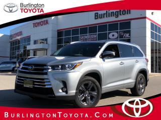 Used 2017 Toyota Highlander LIMITED  for sale in Burlington, ON