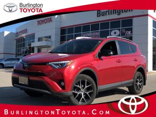 Used 2017 Toyota RAV4 se for sale in Burlington, ON