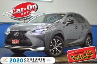 Used 2017 Lexus NX 200t F SPORT 2 AWD 30,000 KM LEATHER NAV SUNROOF REAR C for sale in Ottawa, ON