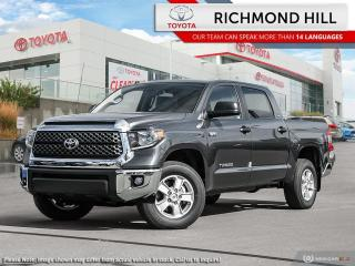 New 2020 Toyota Tundra 4X4 CREWMAX SR5 5.7L for sale in Richmond Hill, ON