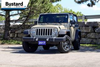 Used 2017 Jeep Wrangler 4WD 2dr Sport | Low Km | Rare Color! | A/C for sale in Waterloo, ON