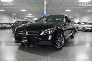 Used 2016 Mercedes-Benz C-Class C300 4MATIC NO ACCIDENTS I NAVIGATION I PANOROOF I REAR CAM for sale in Mississauga, ON