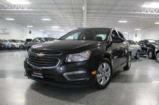 Used 2016 Chevrolet Cruze LT I NO ACCIDENTS I REAR CAM I BIG SCREEN I KEYLESS ENTRY for sale in Mississauga, ON