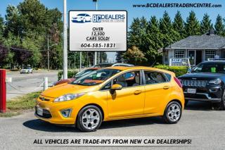 Used 2011 Ford Fiesta SES 5-DOOR Hatchback, Rare Colour, Low Km's, Bluetooth for sale in Surrey, BC