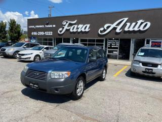 Used 2007 Subaru Forester 2.5 X for sale in Scarborough, ON