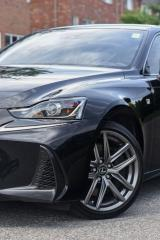 Used 2017 Lexus IS 300 AWD.RED INTERIOR. F SPORT. ONE OWNER. NO ACCIDENTS. for sale in Mississauga, ON