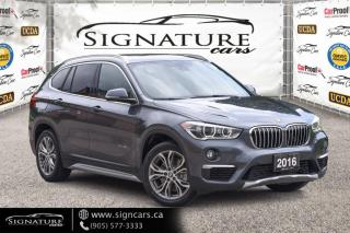 Used 2016 BMW X1 AWD 4dr xDrive28i W/ NAV! HEADS UP DISPLAY. PREMIUM ENHANCED for sale in Mississauga, ON