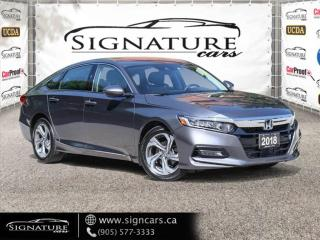 Used 2018 Honda Accord Sedan EX-L . NO ACCIDENT. CLEAN CARFAX. LOW KMS. LEATHER for sale in Mississauga, ON
