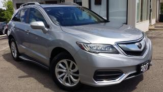 Used 2017 Acura RDX 6-Spd AT AWD w/ Technology Package -LEATHER! NAV! BACK-UP CAM! BSM! for sale in Kitchener, ON