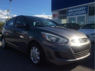 Used 2015 Hyundai Accent GL - Bluetooth - Local Trade - Air Conditioning for sale in Cornwall, ON