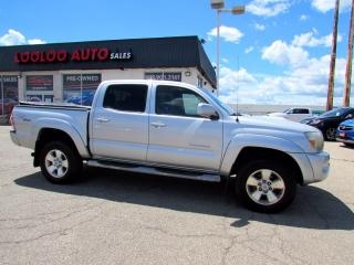Used 2010 Toyota Tacoma Double Cab V6 4WD TRD SPORT CAMERA CERTIFIED for sale in Milton, ON