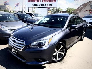 Used 2017 Subaru Legacy 2.5i limited w/Tech Navigation/Leather/Sunroof/Eye Sight for sale in Mississauga, ON
