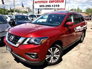Used 2017 Nissan Pathfinder SL AWD TECH Navigation/Leather/Sunroof/Alloys for sale in Mississauga, ON