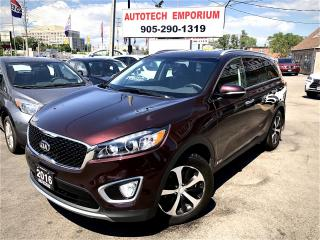 Used 2016 Kia Sorento EX AWD Camera/Heated Leather Seats/PDC&GPS* for sale in Mississauga, ON