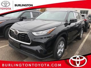 New 2020 Toyota Highlander L FWD for sale in Burlington, ON