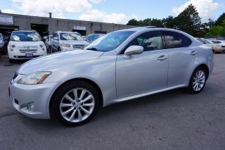 Used 2009 Lexus IS 250 AWD CERTIFIED 2YR WARRANTY SHIFTER PADDLES P.START SUNROOF HEATED ALLOYS for sale in Milton, ON