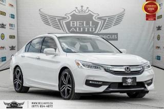 Used 2017 Honda Accord Sedan Touring, V6, NO ACCIDENT, NAVI, REAR CAM, B.SPOT for sale in Toronto, ON