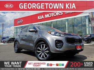 Used 2018 Kia Sportage AWD | LEATHER| NAVI | BU CAM | 19K KMS | HTD SEATS for sale in Georgetown, ON