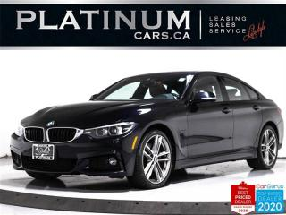 Used 2018 BMW 4 Series 440i xDrive Gran Coupe, M-SPORT, AWD, NAV, CAM, BT for sale in Toronto, ON
