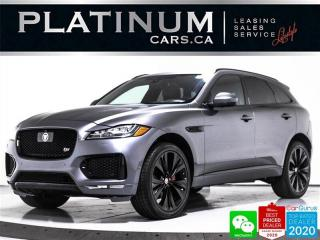 Used 2018 Jaguar F-PACE S, 380HP, NAV, PANO, CAM, HEATED SEATS, BT for sale in Toronto, ON