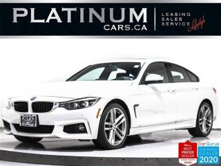 Used 2018 BMW 4 Series 440i xDrive Gran Coupe, AWD, M-SPORT, NAV, CAM, BT for sale in Toronto, ON