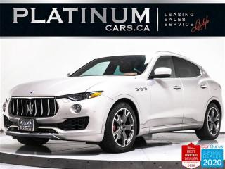 Used 2017 Maserati Levante 345HP, AWD, NAV, PANO, TWO TONE, CAM, PADDLES for sale in Toronto, ON