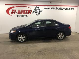 Used 2013 Toyota Corolla 4DR SDN AUTO LE for sale in St-Hubert, QC