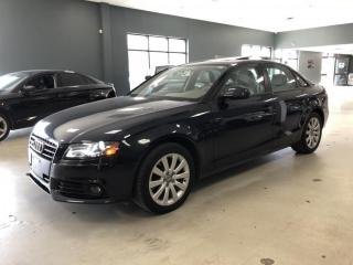 Used 2012 Audi A4 2.0T QUATTRO*LOW KM*NO ACCIDENTS*CERTIFIED* for sale in North York, ON