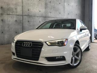 Used 2016 Audi A3 KOMFORT 2.OT QUATTRO TOIT PANO for sale in St-Nicolas, QC