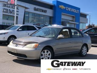 Used 2003 Honda Civic LX / AUTOMATIC / A/C / FANTASTIC COMMUTER  / for sale in Brampton, ON