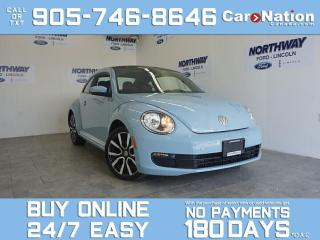 Used 2013 Volkswagen Beetle Coupe 2.0L TDI | DIESEL | SUNROOF | RARE FIND | LOW KM! for sale in Brantford, ON