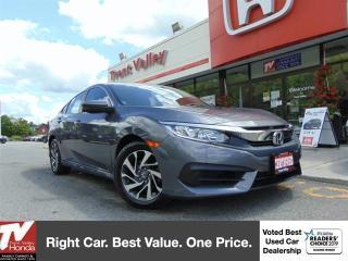 Used 2016 Honda Civic Sedan EX (1) Owner for sale in Peterborough, ON