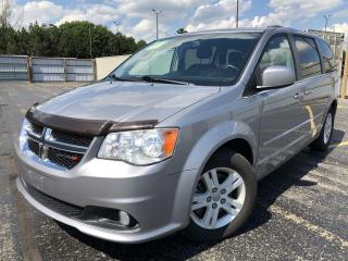 Used 2014 Dodge Grand Caravan Crew 2WD for sale in Cayuga, ON