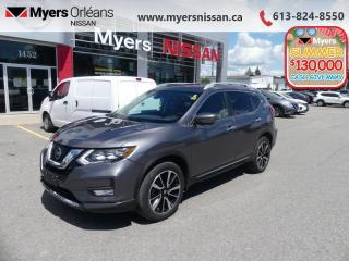 Used 2017 Nissan Rogue SL Platinum  - Sunroof -  Navigation - $158 B/W for sale in Orleans, ON