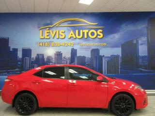 Used 2015 Toyota Corolla S SPORT AIR CLIMATISE CAMERA DE RECUL BL for sale in Lévis, QC