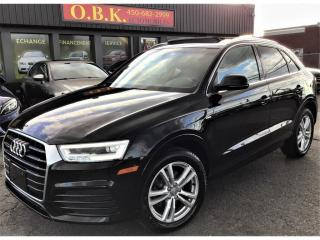 Used 2016 Audi Q3 Quattro-2.0T-Technik-S LINE-TOIT PANO-NAVI-CAM REC for sale in Laval, QC