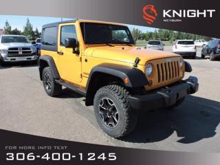 Used 2012 Jeep Wrangler Sport | Rubicon Wheels and 3
